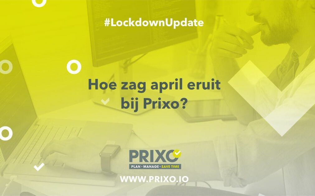 April 2020 update bij Prixo