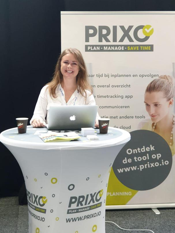 Prixo op Digital Construction Brussels 2019