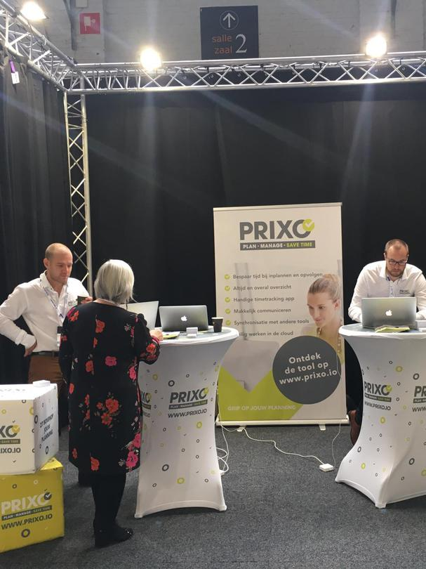 Prixo stand 85A op Digital Construction Brussels 2019