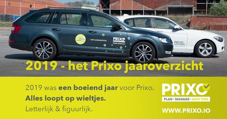 Het 2019 jaaroverzicht van Prixo