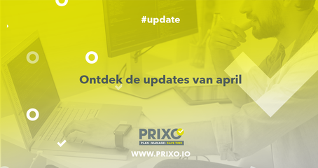 Update Prixo april 2019