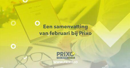 Februari 2021 update - Prixo