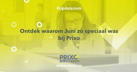 juni 2020 update bij Prixo