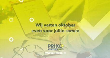 Oktober 2020 update bij Prixo