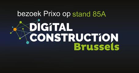 Prixo op Digital Construction Brussels 2019
