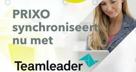 Prixo en Teamleader synchroniseren