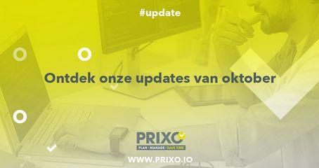 Prixo update oktober 2019