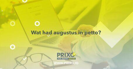 Alles over de updates bij Prixo in augustus '21