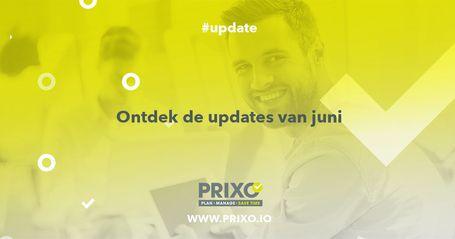 updates Prixo juni 2019
